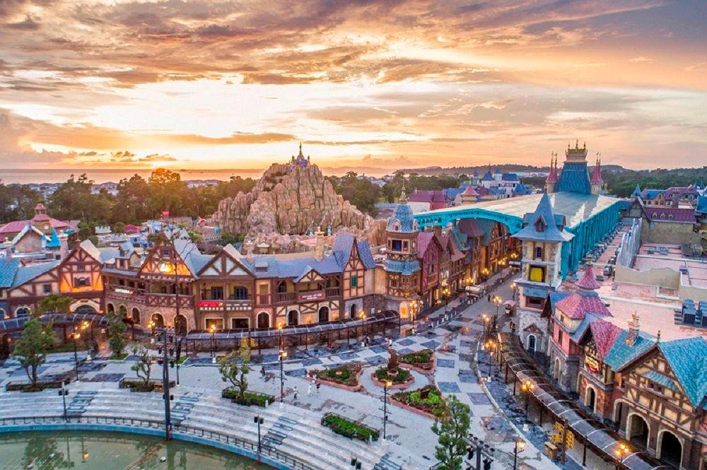 Khu vui chơi của Grand World Phú Quốc