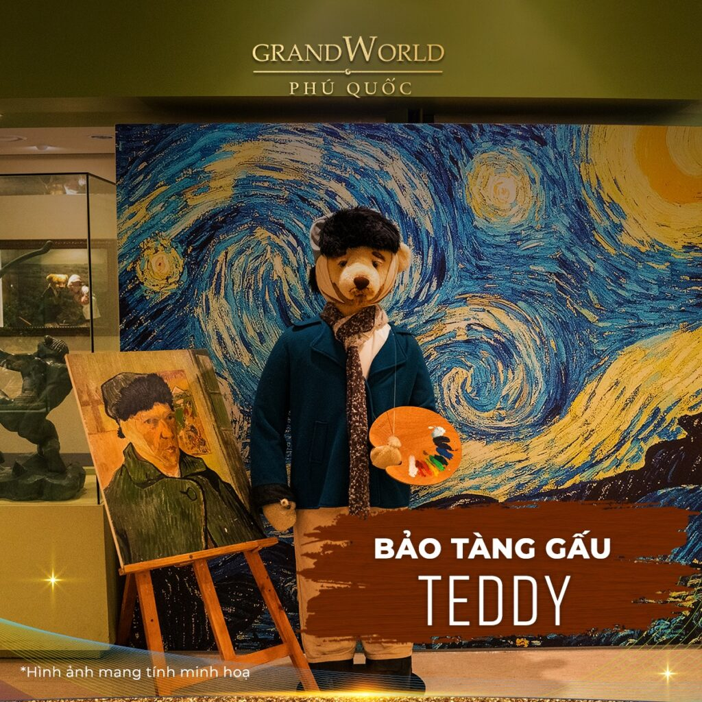Bảo Tàng Gấu Grand World Phú Quốc